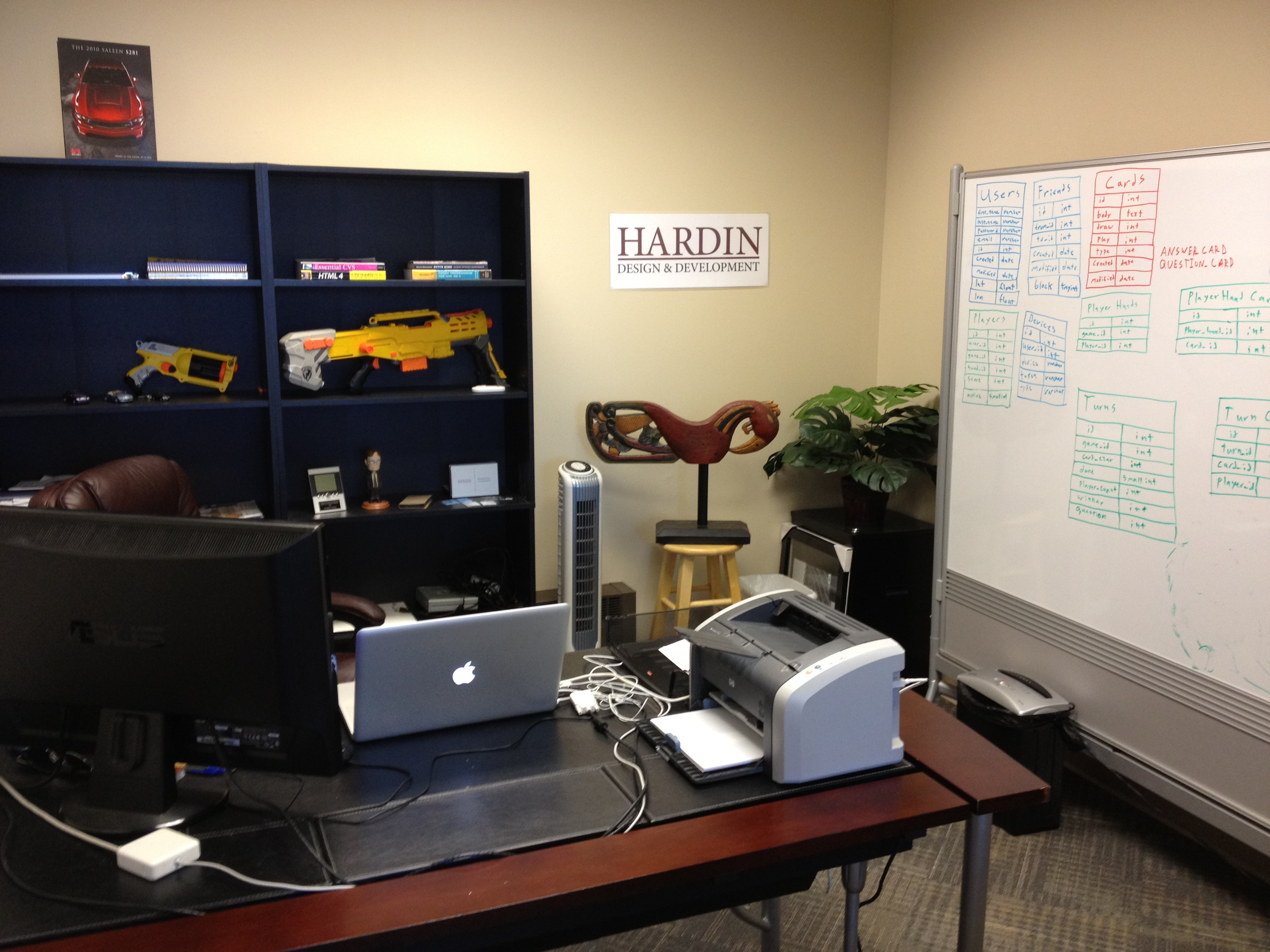 Finally decorated my office hardin design development for Office pictures